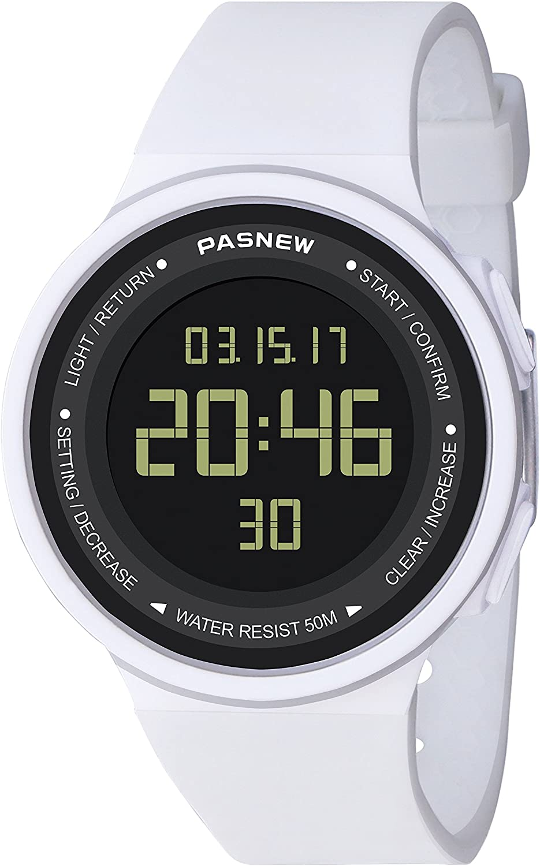 Hombre O Mujer Digital Relojes para Mujer Relojes Hombre Relojes Deporte Relojes Adolescent Relojes con Alarma Luz Timer Cronómetro Impermeable ETC Multifuncional Relo
