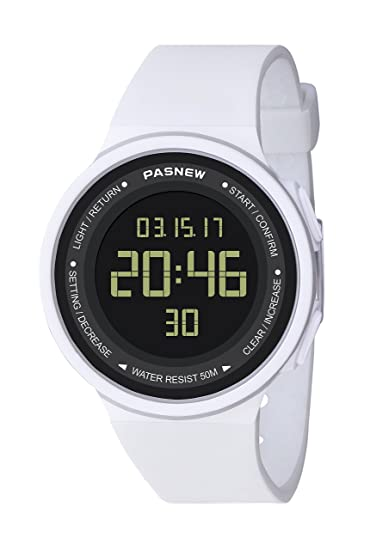 Pasnew-446 Sports Digital Watches Womens Kids Boys or Girls Watches Teenagers Students Watch with