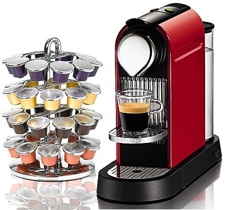 Amazon.com: Nespresso C110 Citiz bomberos rojo automática ...