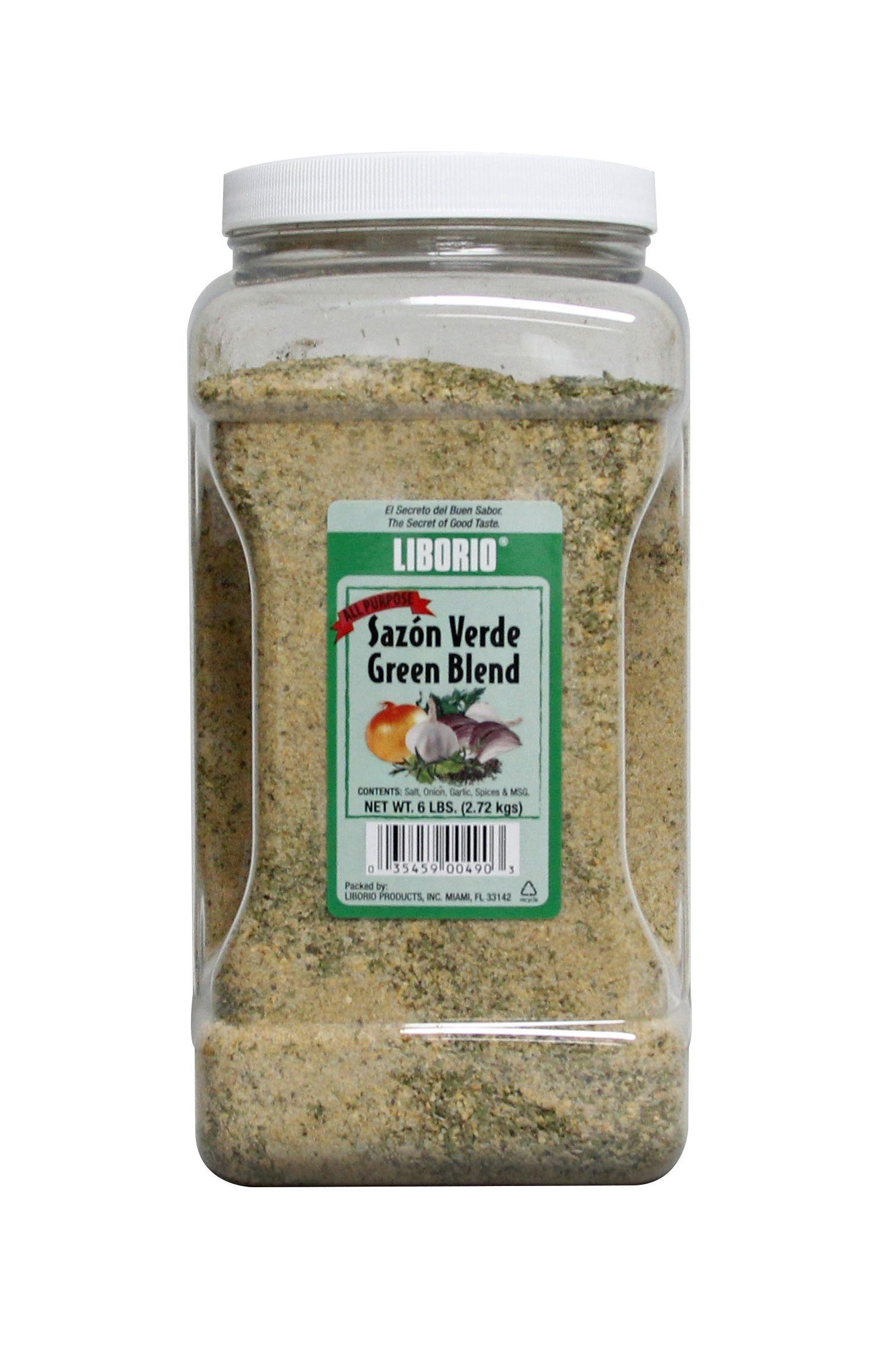 Liborio Sazón Verde All Purpose Seasoning, 6 lbs