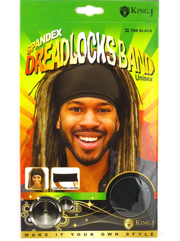 Amazon.com  King.J Unisex Spandex Dreadlocks Band (Black)  Beauty 95c942de0c5