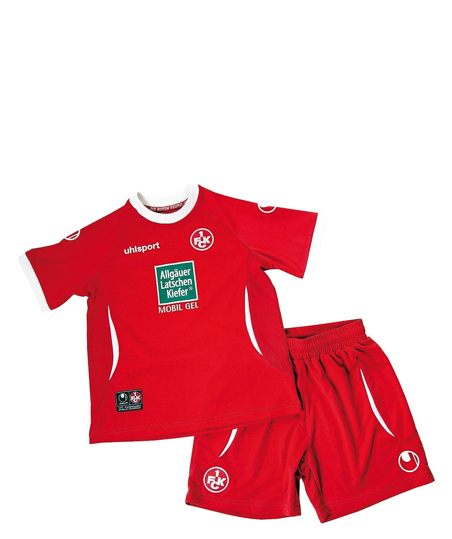 uhlsport FCK 1.FC Kaiserslautern Home Mini-Kit 2012-13 Rot grössen:Gr. 92 / 98