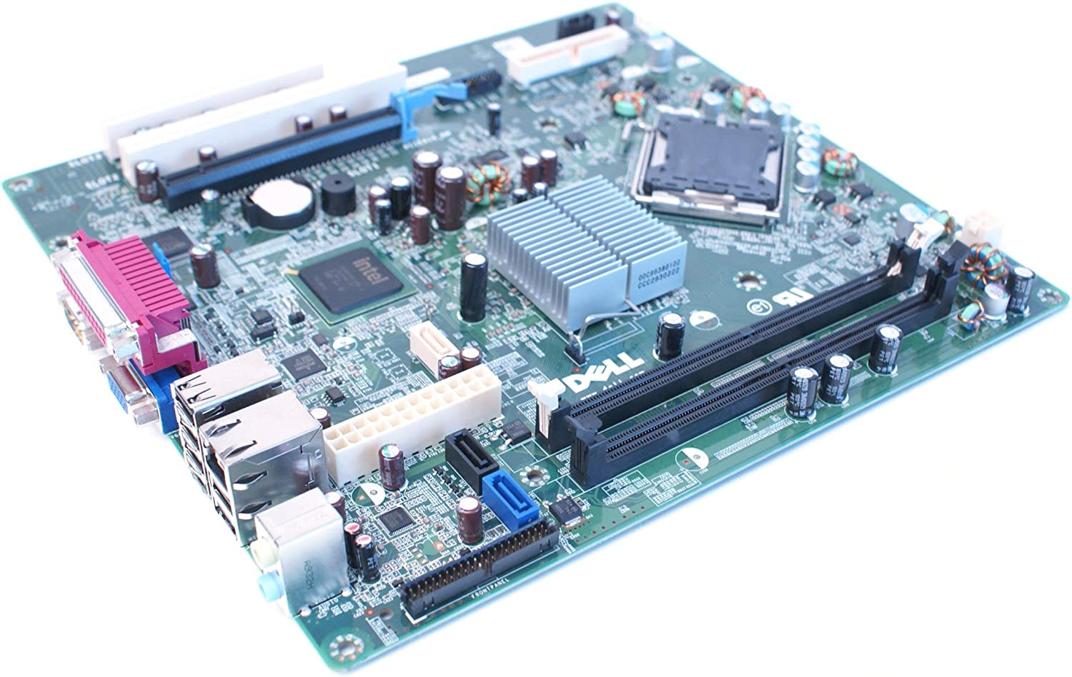Genuine Dell Motherboard Logic Board For Optiplex 360 Desktop DT Systems Intel G31 Express Chipset DDR2 Memory Socket 775 Compatible Part Numbers: T656F (Renewed)