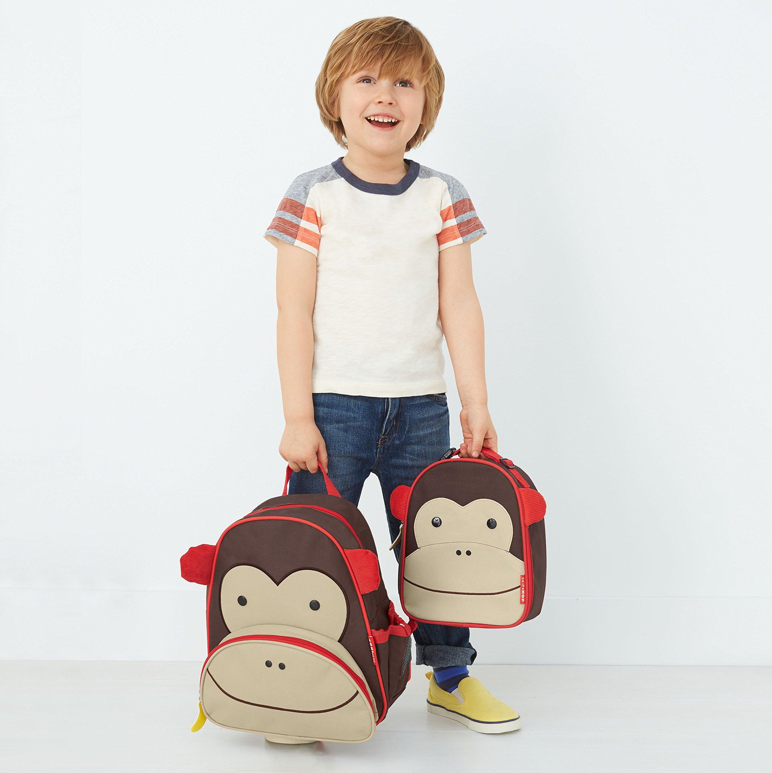 Zoo Toddler Backpack Marshall Monkey, 12'' School Bag, by Skip Hop (Image #10)