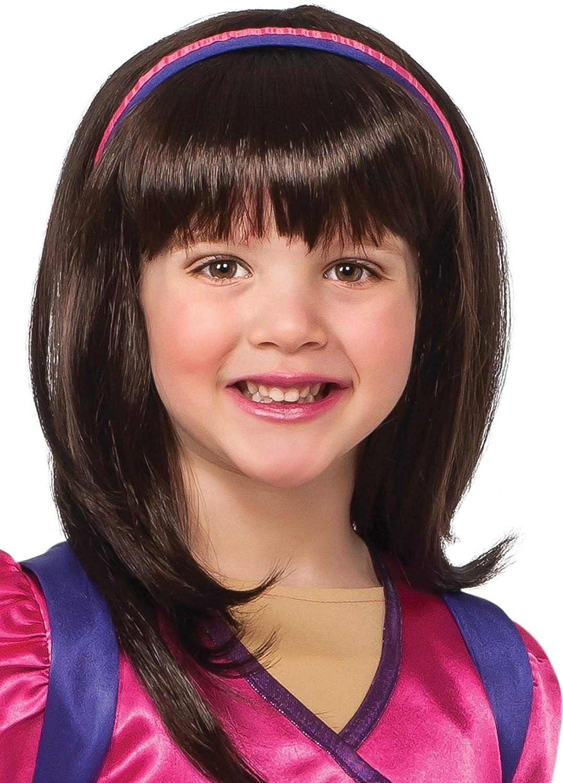 Rubies Dora and Friends Dora the Explorer Wig, Child Size: Amazon