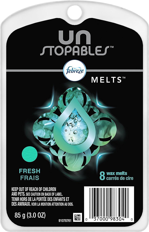 Febreze Unstopables Fresh Wax Melts (8 Melts, 3 Oz)