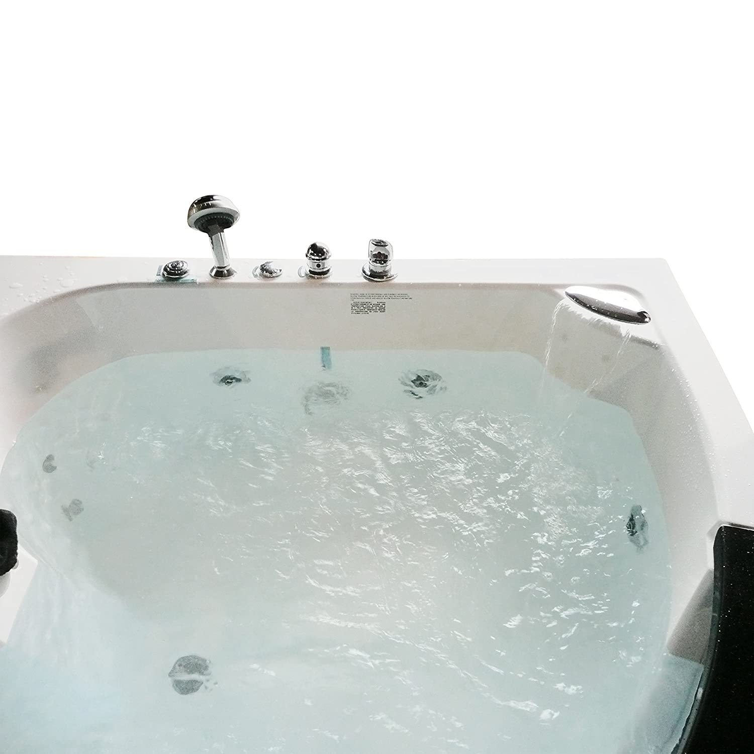 Homeward Bath\'s Chelsea 2 Person Corner Water Massage Tub - Baby ...