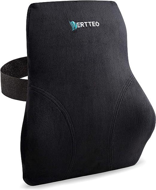 Vertteo Full Lumbar Black Support - Best All-Around Back Support