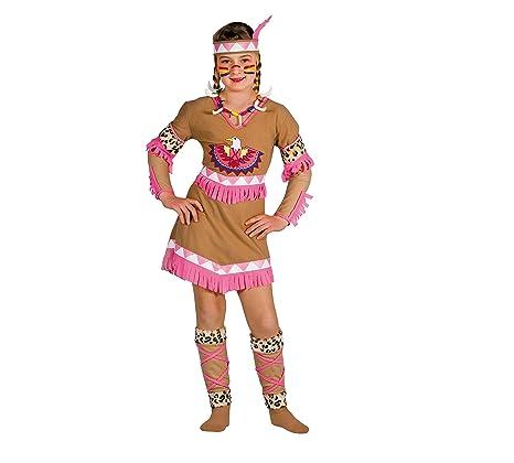 Ciao 10799 , Indiana Raggio di Luna Costume Bambina con Make,Up, 8,