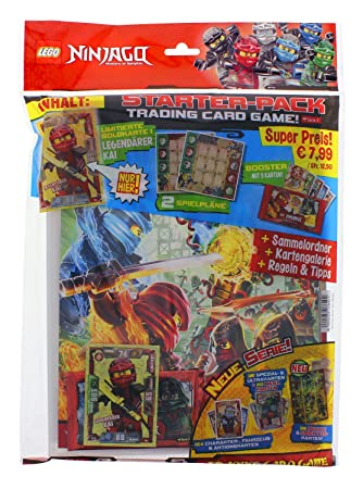 Top Media Lego Ninjago Series Ii Trading Cards Starter Pack Amazon