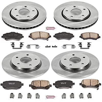 Autospecialty KOE4015 1-Click OE Replacement Brake Kit: Automotive