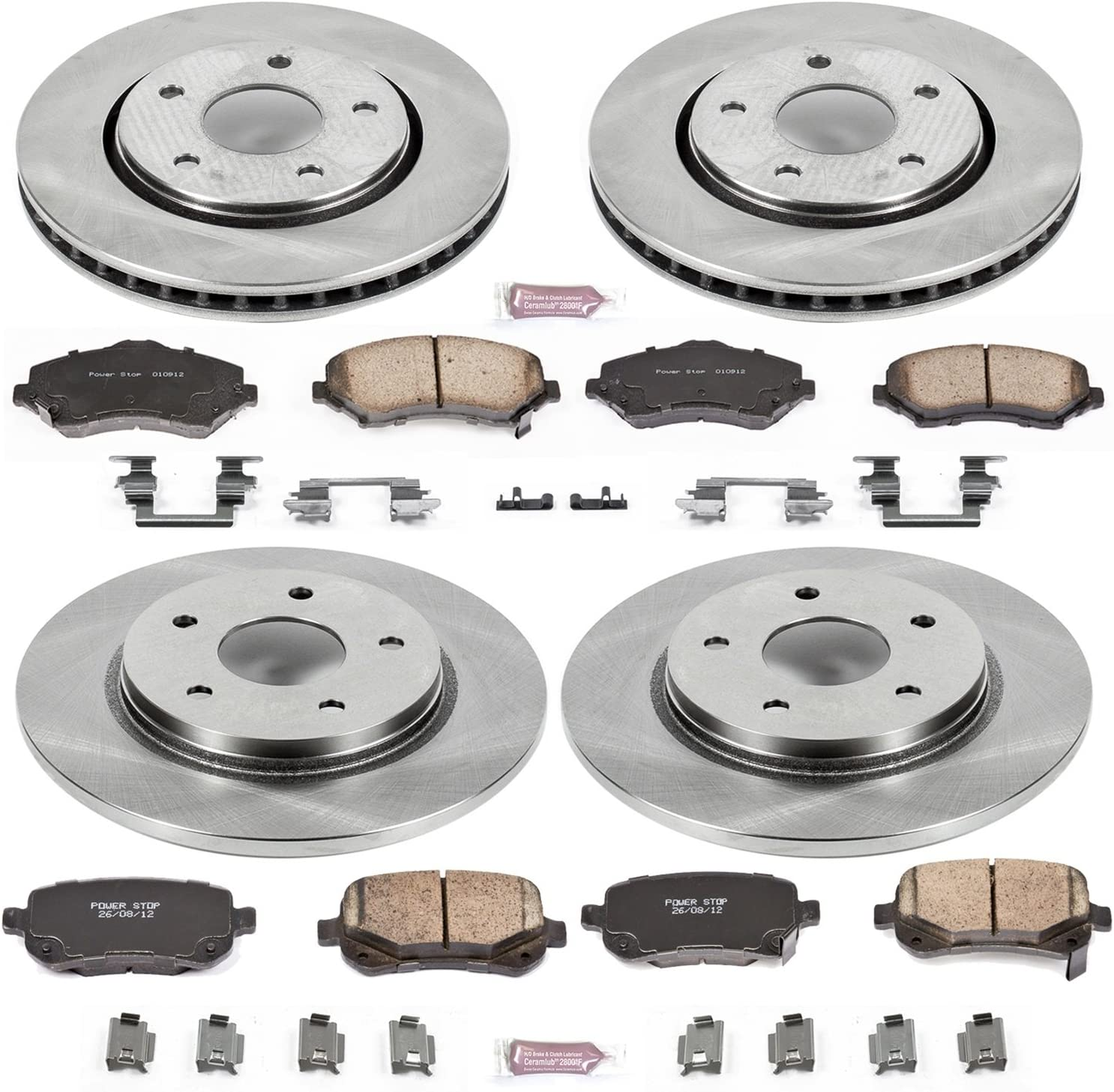 Autospecialty KOE4015 1-Click OE Replacement Brake Kit