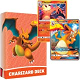 Pokemon Charizard Deck   Ready to Play 60 Card Starter Deck   Includes Charizard GX   Perfect for Beginners Charizard Theme D