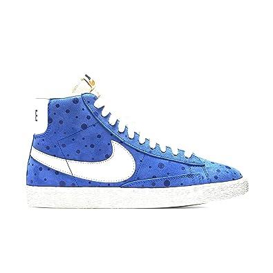 Nike Women's Blazer Mid Suede Vintage Racer Blue/Sail 518171-410 (Size: