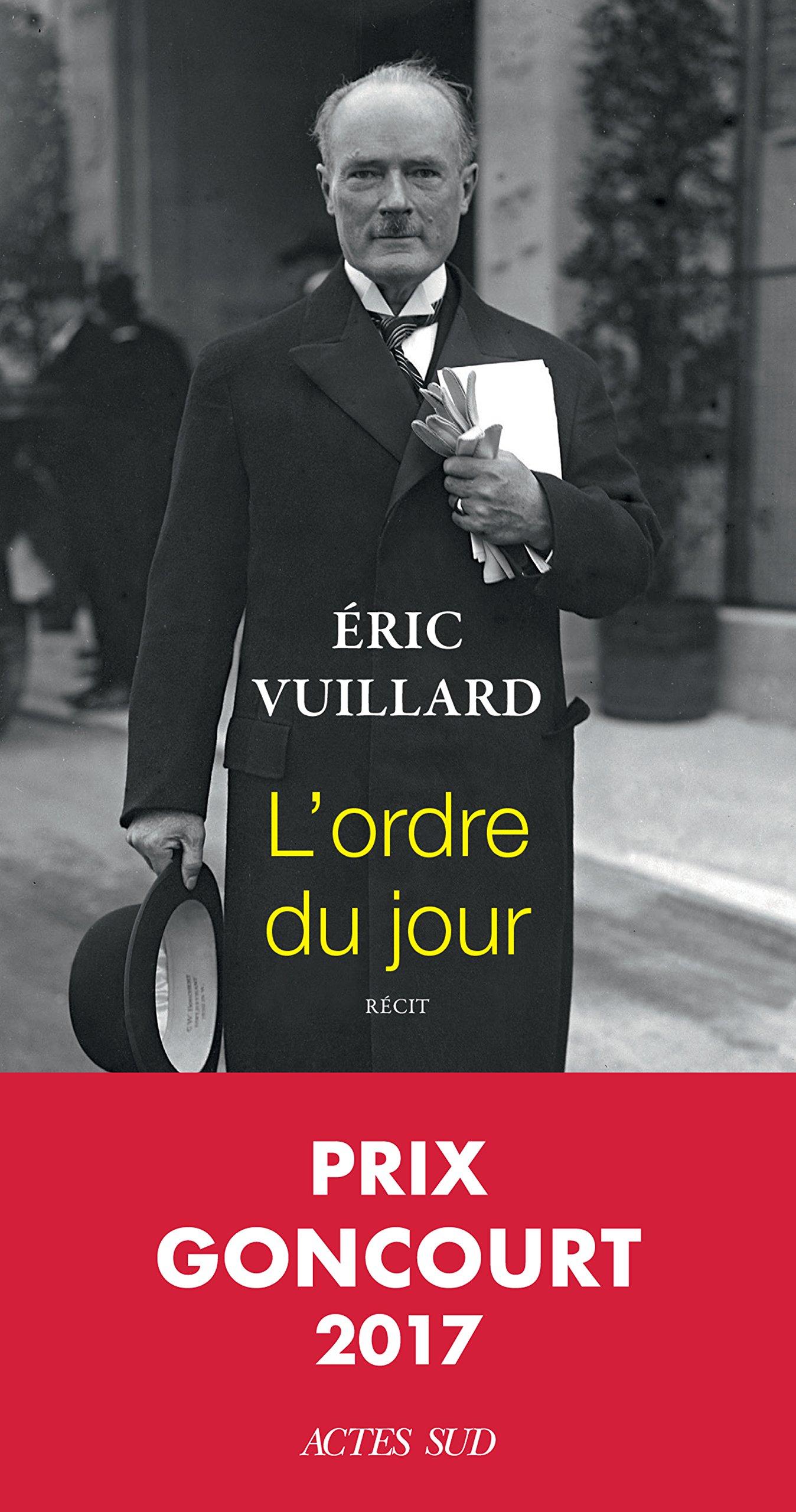 L' ordre du jour / Eric Vuillard |