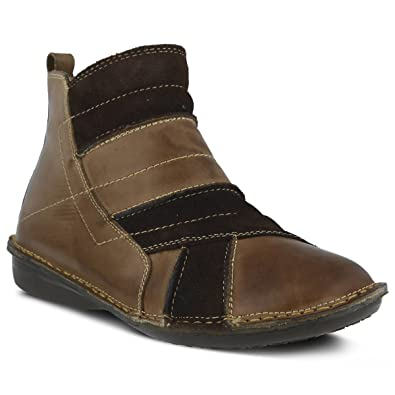 Official site Womens Spring Step Groove Black Leather/Suede Womens Black Leather/Suede Spring Step Womens Spring Step