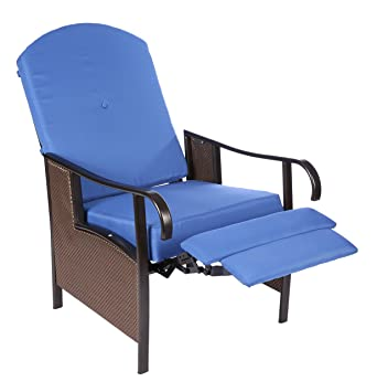 Home Like Adjustable Recliner Lounge Chair Patio Seating Relax Recliner  Extra Wide Outdoor Recliner With