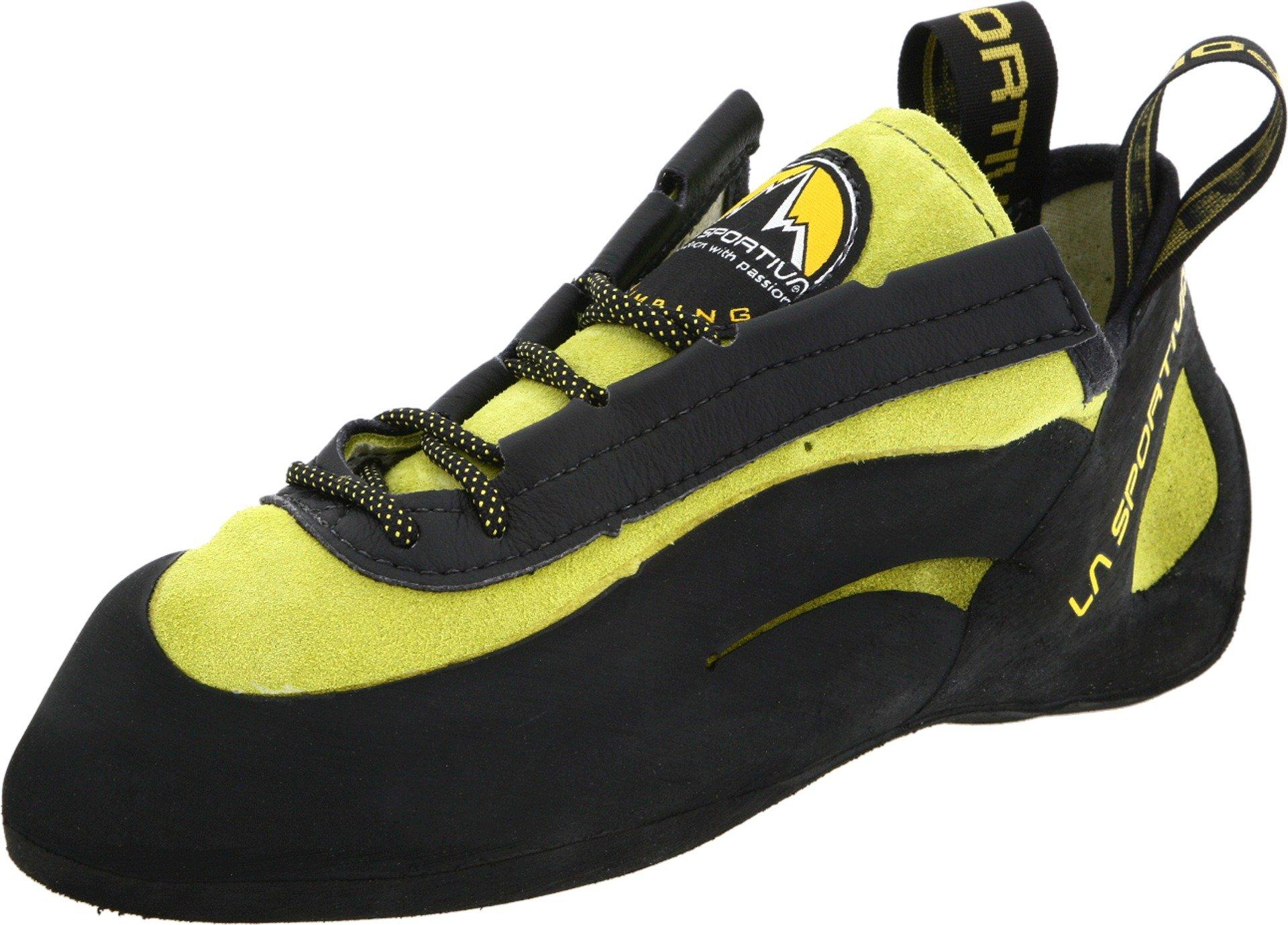 La Sportiva Miura Climbing Shoes Yellow M/8.5 USA W/9.5 USA