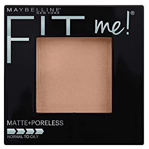Maybelline New York Fit Me Matte + Poreless Powder Makeup, True Beige, 0.29 Ounce, 1 Count