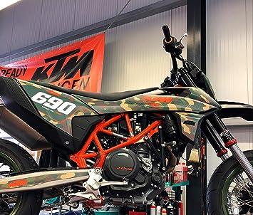 Camo Army Matt Smc R 690 2019 Factory Decoration Decals Kit Sticker Graphics Auto
