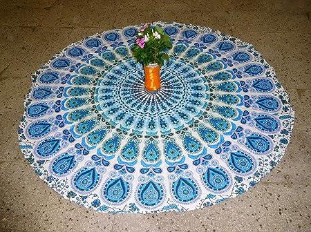 Gemsandcraft - Alfombrilla de yoga Mandala, toalla de playa ...