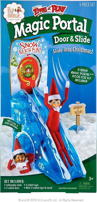 Elf on The Shelf-Scout Elves at Play Magic Portal Door & Slide