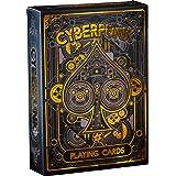 Cyberpunk Gold Playing Cards