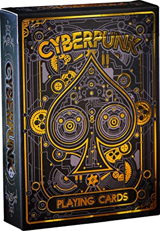 Cyberpunk Playing Cards, Deck of Cards, Premium Card Deck, Best Poker Cards, Unique Bright Colors for Kids & Adults, Card Decks Games, Standard Size