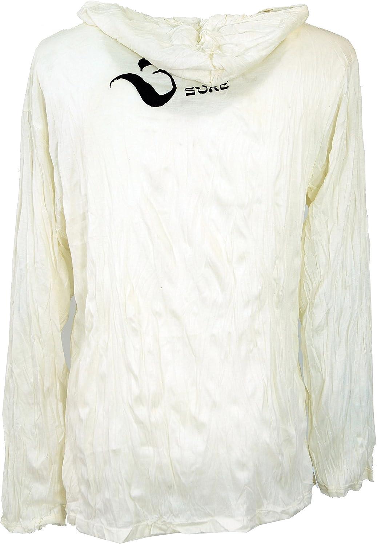 Printed T-Shirts Cotton Sure Long Sleeve Shirt Hoodie Meditation Chakra Buddha Guru-Shop