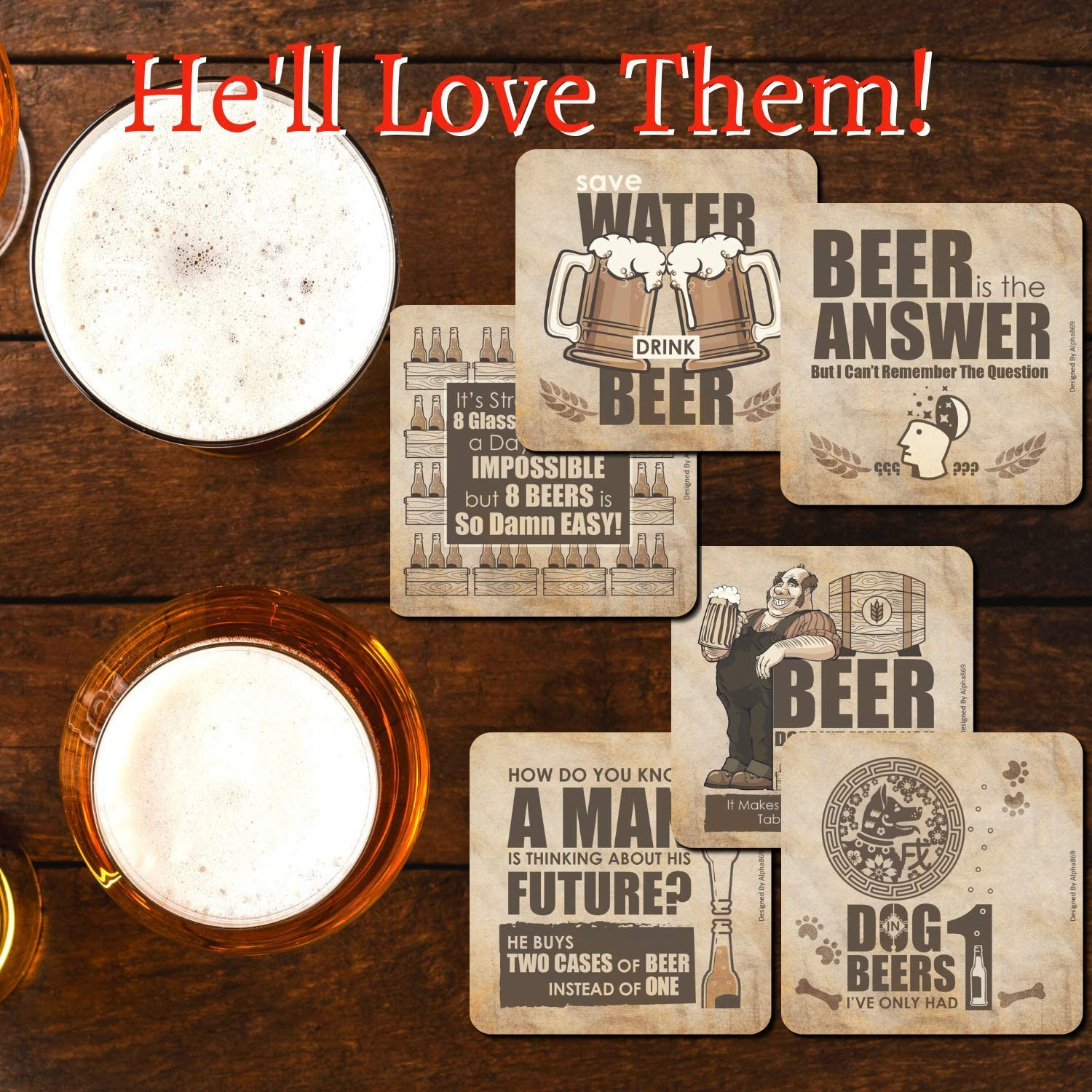 Dont Forget To Call Your Mom Set of 4 Drink Coaster Gift For Student Housewarming