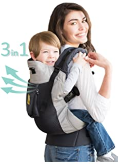 982219a79c5 LÍLLÉbaby 3 in 1 CarryOn Toddler Carrier - Airflow