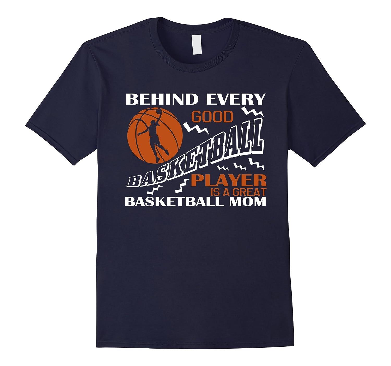 Basketball Player T Shirt Basketball Mom T Shirt-PL