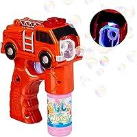 Relaxdays Pistola Pompas Camión de Bomberos con LED