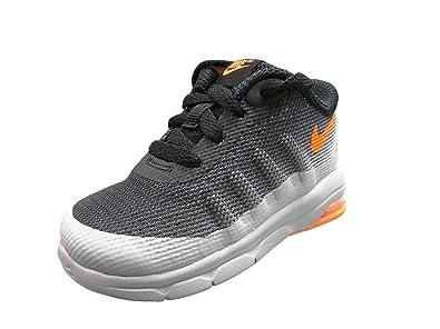 Nike Toddler Air Max Invigor Wolf Grey/Total Orange-Black (5c Toddler)