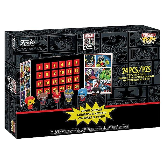 Calendrier Destiny 2.Funko Advent Calendar Marvel 80th Anniversary 24pc