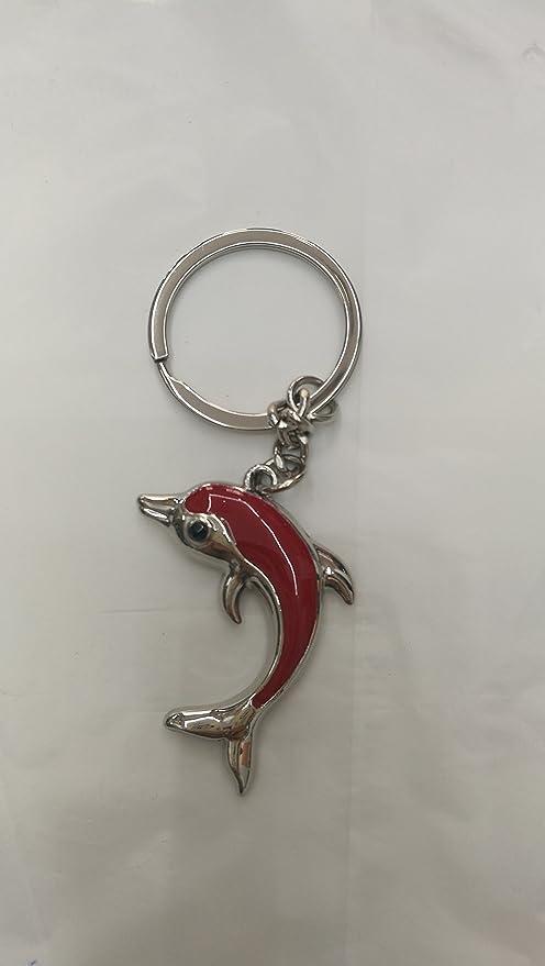 Llavero delfin acero: Amazon.es: Equipaje