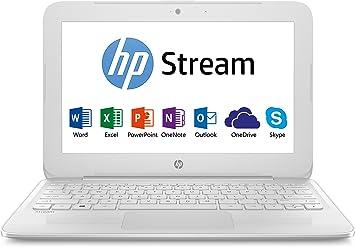 HP Stream - portátil (Intel Celeron, Windows 10) blanco: Amazon.es: Informática