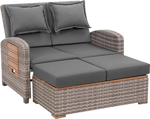 greemotion Tobago sofá de jardín, Gris: Amazon.es: Jardín