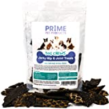 PRIME PET PRODUCTS Hip & Joint Dog Chews Beef Jerky Treats Hip and Joint Supplement for Dogs, Supports Healthy Joint Function and Helps With Pain Relief