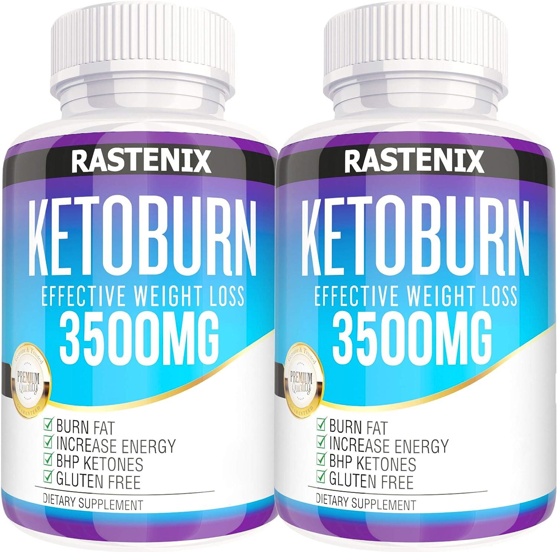 Keto Pills - 3X Potent (2 Pack   180 Capsules) - Weight ...