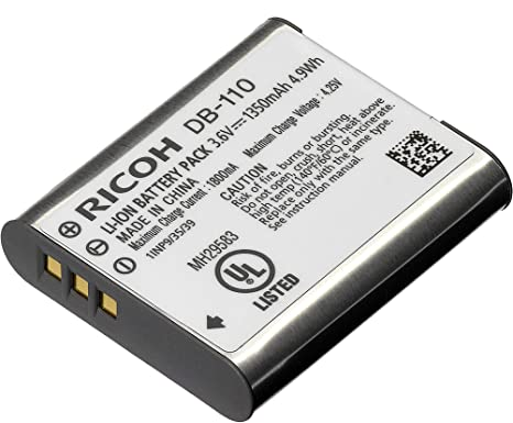 Ricoh DB-110 Rechargeable Li-Ion Battery