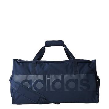781f84bd11 adidas Lin per Sac de Sport Mixte Adulte, Bleu Maruni/Azutra, Taille S