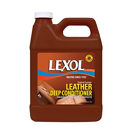 Lexol E300858000 Leather Conditioner, 1 Liters, Best Cleaner and Conditioning Since 1933 For Use on Apparel, Furniture, Auto Interiors, Shoes, Bags ...