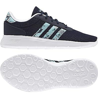 adidas Damen Lite Racer W Sneaker Low Hals, Blau (Maruni