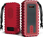 Waterproof Bluetooth Speaker with FM Radio– IP67 Rated Fully Submersible –