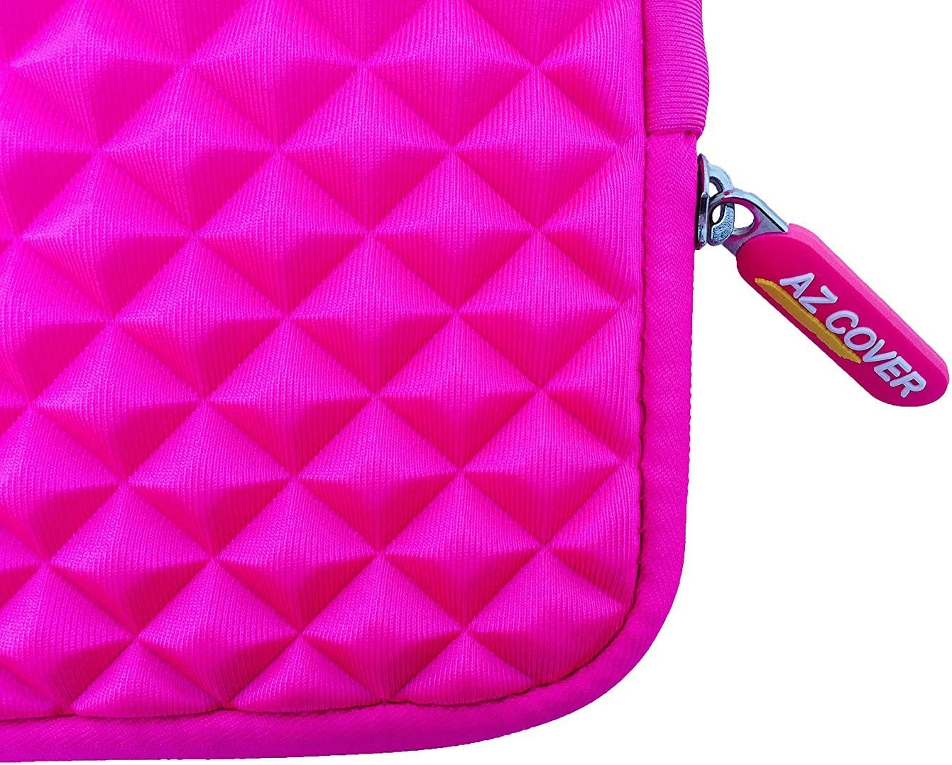 AZ-Cover 11.6-Inch Simplicity Stylish Diamond Foam Shock-Resistant Neoprene Sleeve Hot Pink for Lenovo Thinkpad Yoga 2-in-1 Convertible 11.6-inch IPS Touchscreen Laptop Tablet,