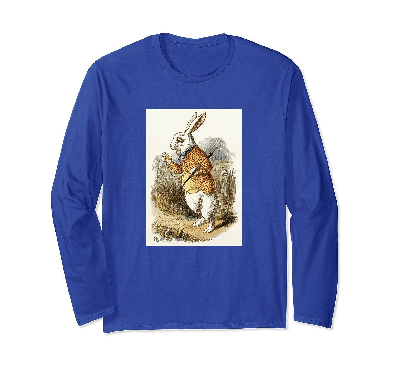 White Rabbit from Alice In Wonderland T-Shirt-fa
