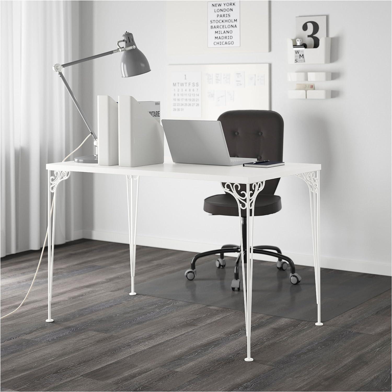 Zigzag Trading Ltd IKEA FALKHOJDEN - Escritorio Blanco: Amazon.es ...