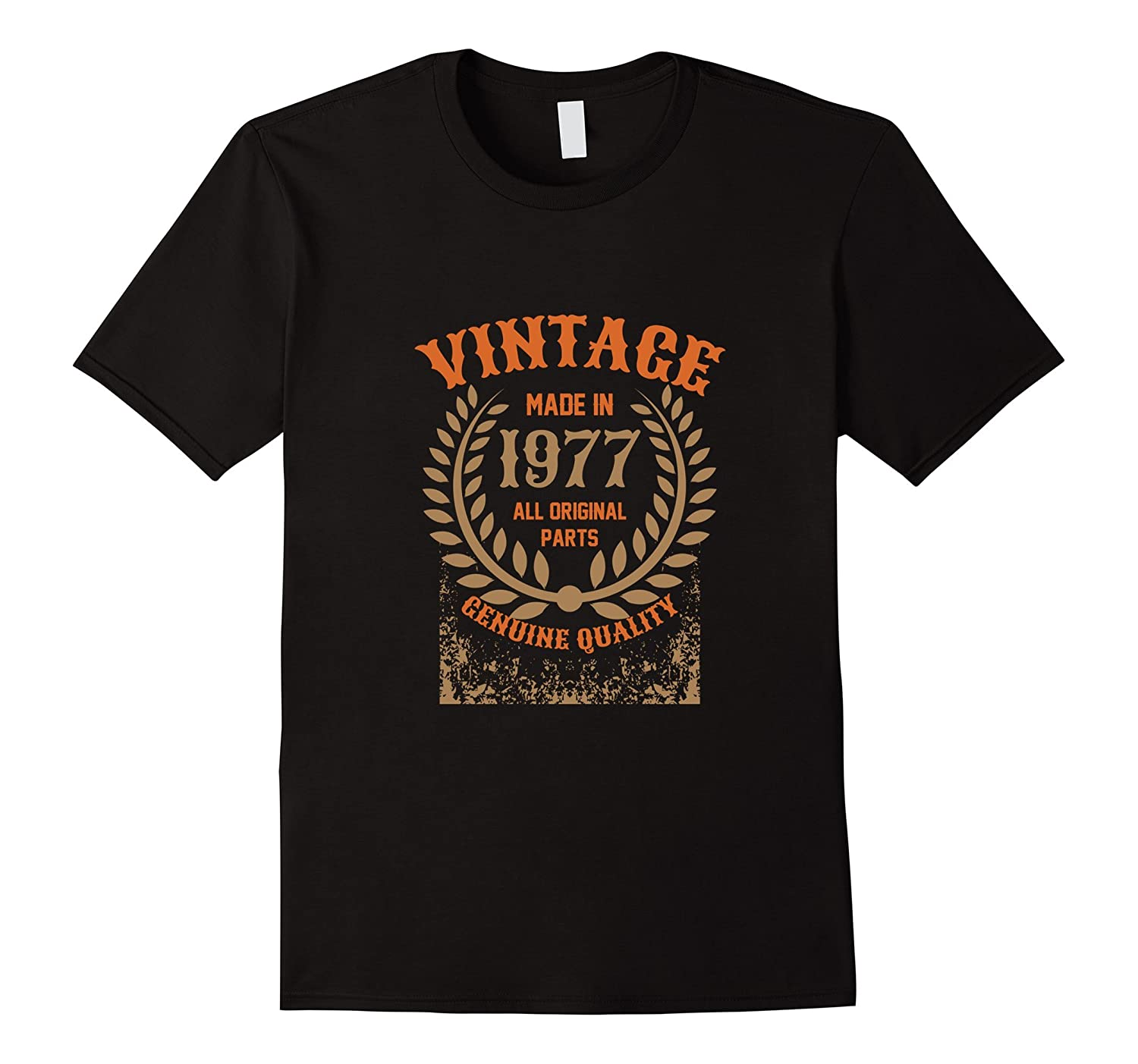 Vintage Made in 1977 - 40th Birthday T-shirt-Vaci