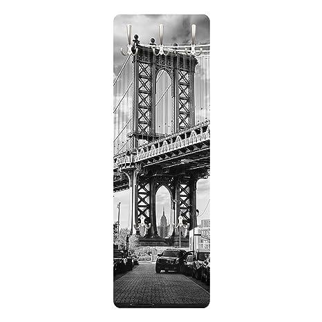 Bilderwelten Perchero - Manhattan Bridge in America ...